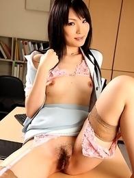 Boss fucks Ruri Shinohara hardcore