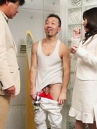 Mizuki Hayama stripped naked