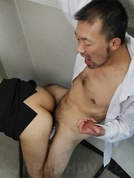 Haruna Sendo getting it from behind