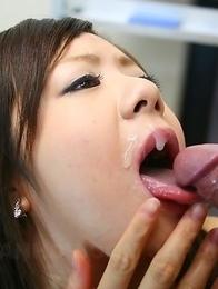 Shino Nakamura gives in to her boss