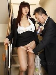 Haruna Sendo gets cunt teased