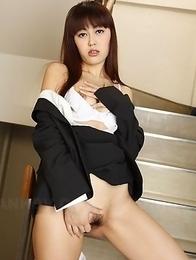 Kinky Haruna Sendo excited and wet