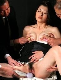 Widow Sayuri Shiraishi vibrated.