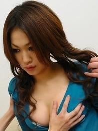 Yu Yamashita gets her cunt nailed