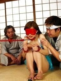 Suzuka Ishikawa gets in bondage sex