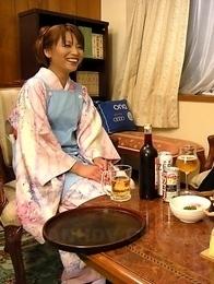 Kaede Moritaka gets in sex session