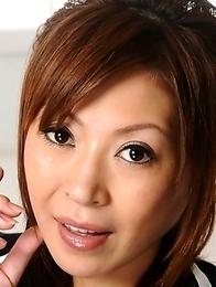 Naughty Jun Kusanagi shows her legs