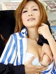 Wife Hibiki Ohtsuki gets nailed