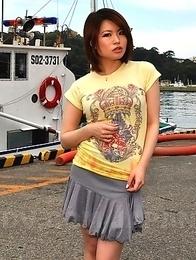 Miki Uemura loves posing so much