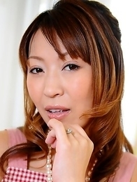 Sexy Japanese redhead wife Jun Kusanagi