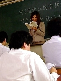 Wonderful teacher Yayoi loves cum