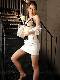 Naughty Japanese angel Yuri Aine