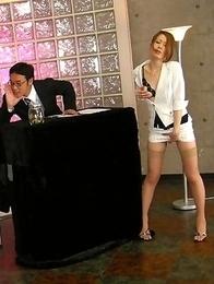 Yuri and Yu enjoying group sex