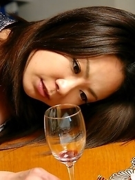 Nanako Misaki pleasing herself