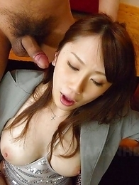 Yui Takashiro gets a few cum loads