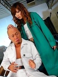 Tsubasa Miyashita enjoys hot sex