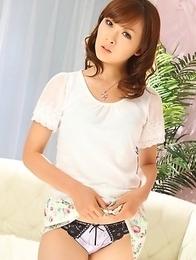 Hot babe Fujii has nice knockers