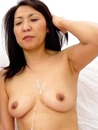 Horny Asian sluts in a threesome