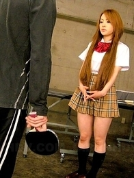 Young gal Ria Sakurai gets teased