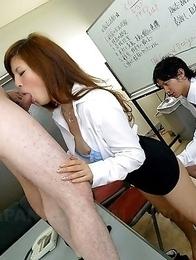 Rina Kikukawa enjoys in group sex