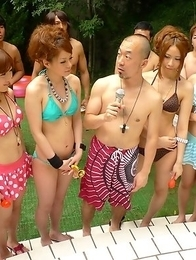Hot Asian ladies want group sex
