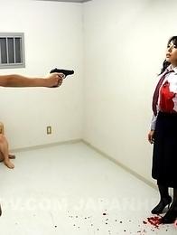 Kinky prison guard gets eliminated
