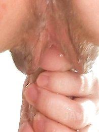 Nao Kojima Asian licks dildo and sticks it in her horny nooky