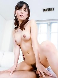 Manami Komukai Asian is doggy screwed after sucking crown jewels