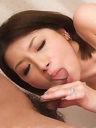 Kaoru Natsuki Asian gets many vibrators and hard shlong in twat
