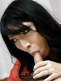 Yukari Asian feeds man with her chest and gets boner in nooky