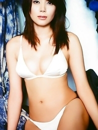 Nana Ogawa Asian has perfect curves spoiled by colorful lingerie