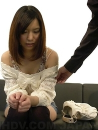 Hot Kurara Makise gets toys, cock and cum