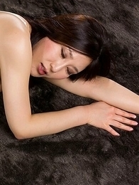 Yuu Kazuki oils herself up before using her favorite dildo to orgasm HARD on cam