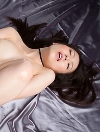 Pasty hottie Yuma Miyazaki sticking her red toes in your face, it's really immersive