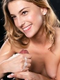 Kristen Scott Cummy Handjob
