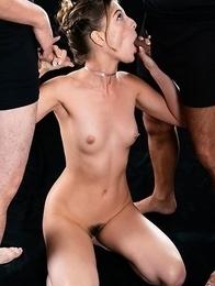 Kristen Scott Sucks with Her Cum Filled Mouth Pussy